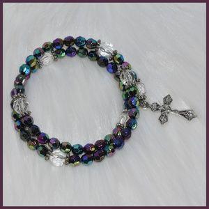 Jewelry - Beautiful Beaded Rosary Bracelet